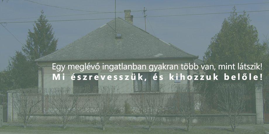 Családi ház felújítás és átalakítás építészeti tervezése, Tét (Győr-Moson-Sopron megye)